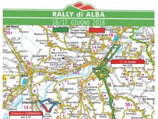 Deici prove speciali per il Rally di Alba 2018