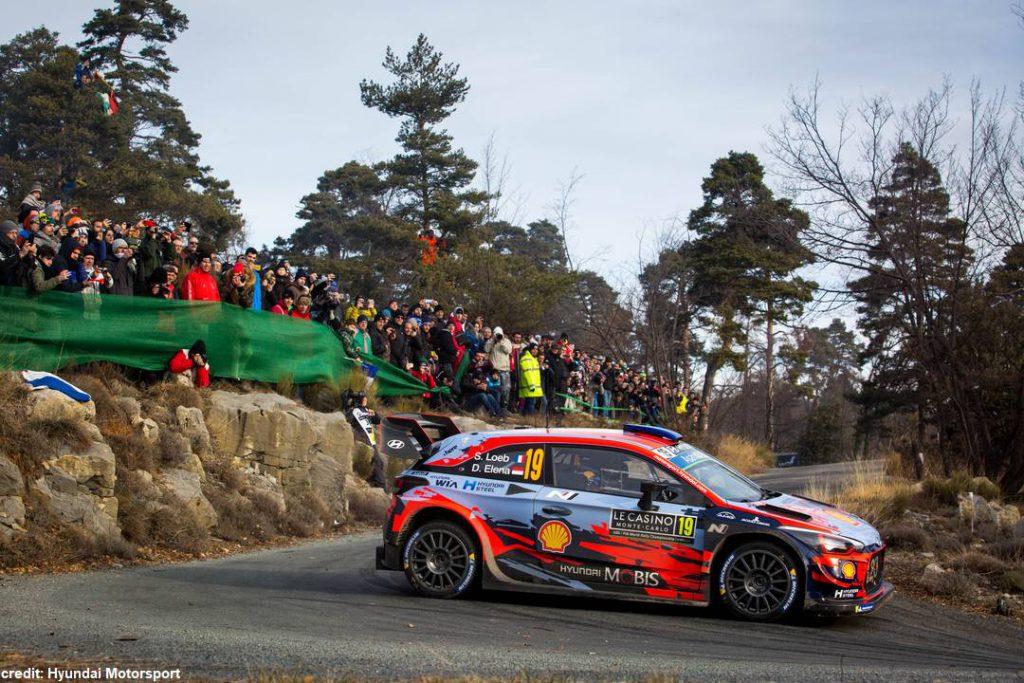 I nove volte campioni del Mondo Sébastien Loeb e Daniel Elena  con la Hyundai i20 Coupe WRC saranno al via del Rally di Alba